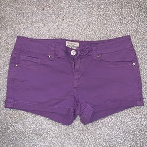 Aeropostale PURPLE shorts size 5/6